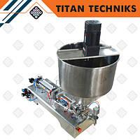 Дозатор жидкости поршневой пневматический 50-500 мл с нагревом и перемешиванием