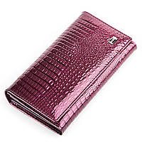 Кошелек женский BODENFENDY 13848 кожаный Фиолетовый, фото 1