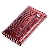Кошелек женский BODENFENDY 13849 кожаный Бордовый, фото 2