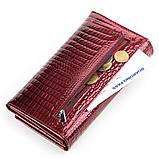 Кошелек женский BODENFENDY 13849 кожаный Бордовый, фото 4