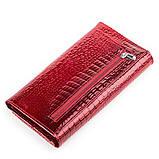 Кошелек женский BODENFENDY 13850 кожаный Красный, фото 2