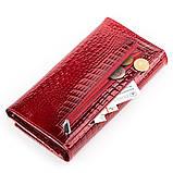 Кошелек женский BODENFENDY 13850 кожаный Красный, фото 4