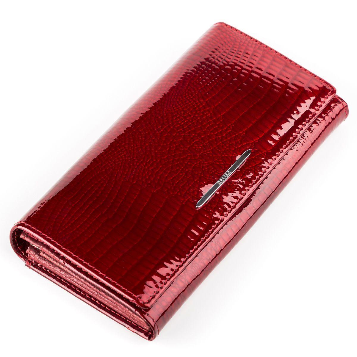 Кошелек женский BALISA 13852 кожаный Красный