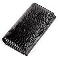 Кошелек женский BALISA 13853 кожаный Черный, фото 1