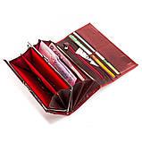Гаманець жіночий BALISA 13855 шкіряний Червоний, фото 5