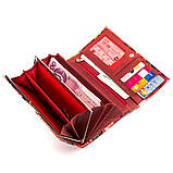Кошелек женский DANICA 13870 кожаный Красный, фото 5