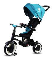Велосипед трехколесный Sun Baby QPlay Rito Бирюзовый J01.013.11 Полиуретан, фото 1