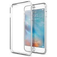 Прозорий силіконовий чохол iPhone 6/6S Plus, 0.5 mm