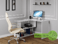 Компьютерный угловой стол, прямой, письменный стол из ДСП (4 ЦВЕТА) / Сделаем по Вашим размерам!