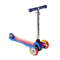 Самокат дитячий Best Scooter 0073D, колеса PU світяться