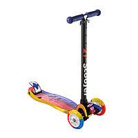 Самокат дитячий Best Scooter 0072D, колеса PU світяться