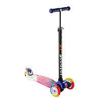 Самокат дитячий Best Scooter 0072Е, колеса PU світяться