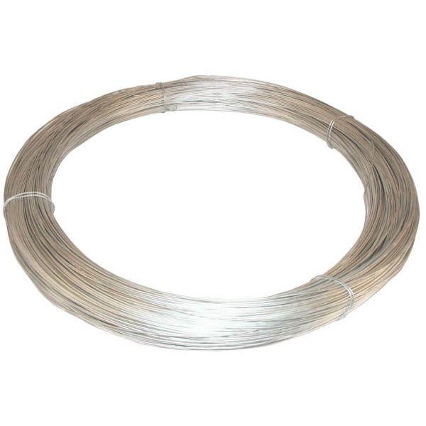 Проволока оцинкованная стальная для электропастуха 1,2мм. (500м)