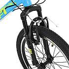 Спортивный велосипед колеса 20 дюймов PROFI G20PLAIN A20.2 голубой, фото 4