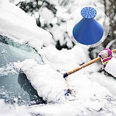 Скребок от льда FUNNEL SNOW REMOVER- Новинка, фото 2
