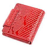 Гаманець жіночий KARYA 17166 шкіряний Червоний, фото 2