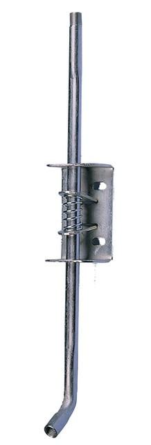 Крепление с регулировкой для сосковой поилки для свиней // нержавеющая сталь