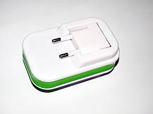 Адаптер HY02 LCD Жабка, зарядное устройство, сетевой адаптер, зарядное устройство адаптер питания, фото 2