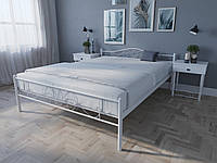 Кровать MELBI Лара Люкс Двуспальная 140х190 см Белый, КОД: 1389164