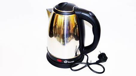 Электрический дисковый чайник  Domotec TPSK-0318, фото 2