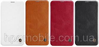 Чехол для Samsung Galaxy S10e G970 (2019) - Nillkin Qin leather case, книжка, PU кожа