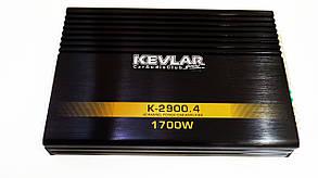 Автомобильный усилитель звука Kevlar K-2900.4 1700Вт 4-х канальный, фото 3