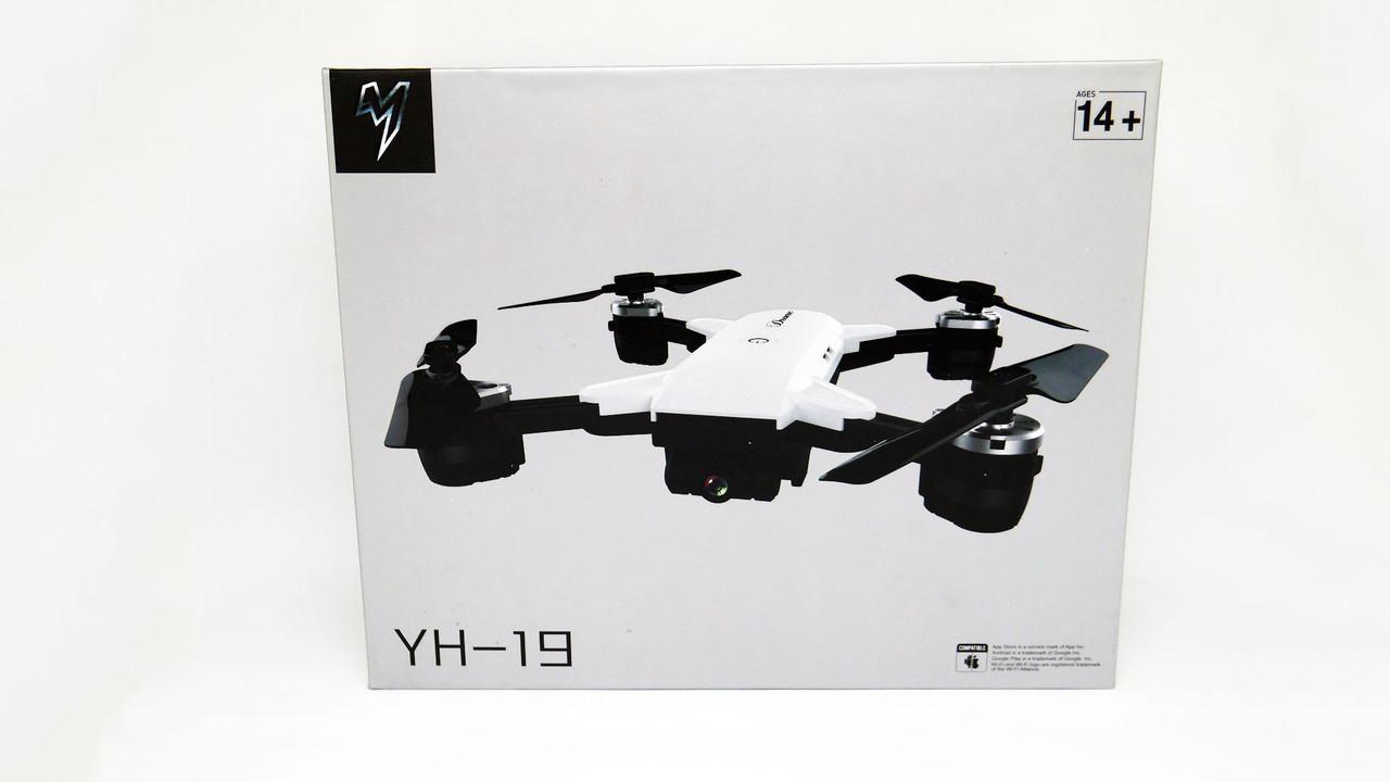 Квадрокоптер YH-19 c WiFi камерою. складаний корпус