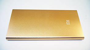 Power Bank Mi 24000 mAh Золотой USB + Металл, фото 2