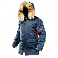 Зимняя куртка аляска Airboss Winter Parka (синяя)