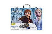 Арт кейс Crayola для творчості Frozen, у наборі 100 предметів, Крайола