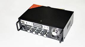 Підсилювач звуку UKC SN-555BT FM USB Блютуз + Караоке