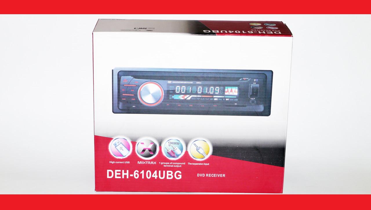 Pioneer DEH-6104UBG DVD Автомагнитола USB+Sd+MMC