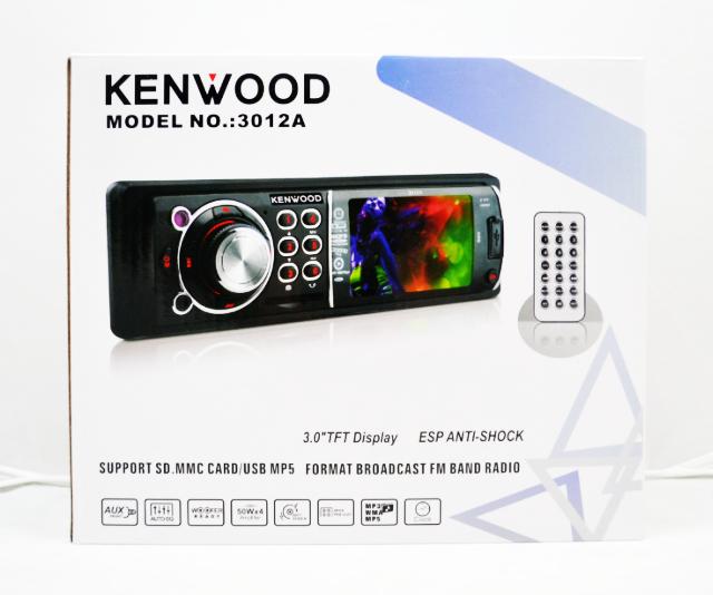 Автомагнитола Kenwood 3012 Video экран LCD 3'' USB+SD