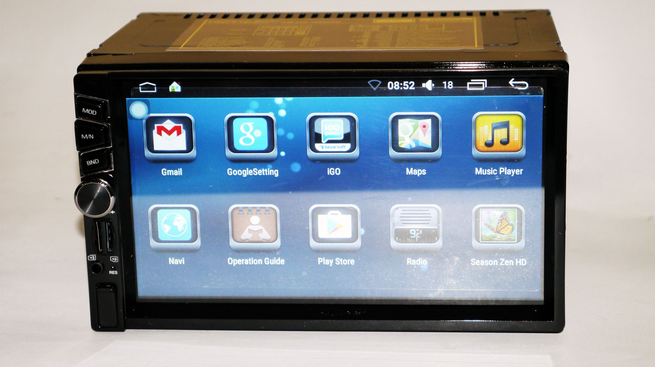 2din Pioneer 6516 GPS + WiFi + 4Ядра +Android