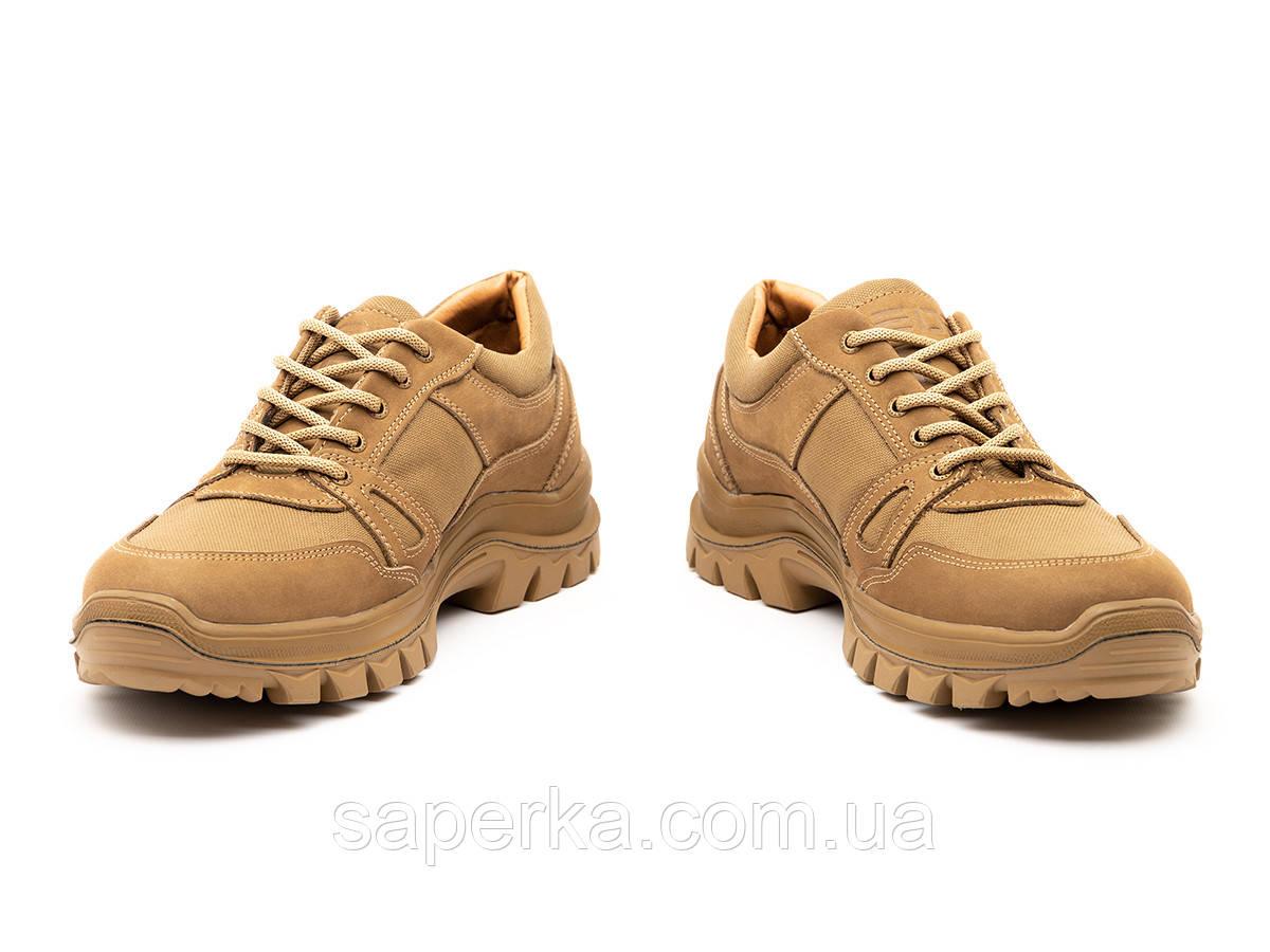 Армейские военные кроссовки на мембране. Модель 6 кайот