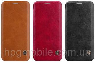 Чехол для Samsung Galaxy S8 Plus G955 (2017) - Nillkin Qin leather case, книжка, PU кожа