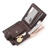 Мужской кошелек ST Leather 18310 (ST103) натуральная кожа Коричневый, фото 5