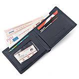 Мужской кошелек ST Leather 18321 (ST160) кожа Синий, фото 3