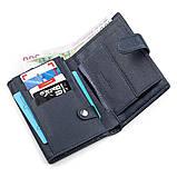 Мужской кошелек ST Leather 18332 (ST101) кожа Синий, фото 3