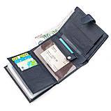 Мужской кошелек ST Leather 18332 (ST101) кожа Синий, фото 7