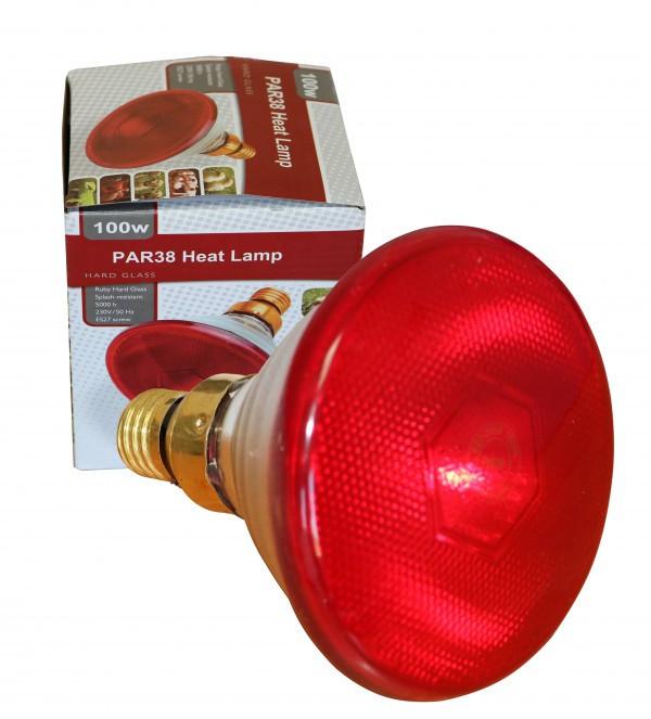 Лампа инфракрасная для обогрева 100W // PAR38