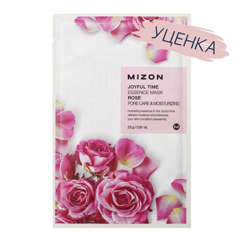 Увлажняющая тканевая маска для лица MIZON Joyful Time Essence Mask Rose