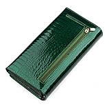 Кошелек женский ST Leather 18393 (S2001A) оригинальный Зеленый, фото 2