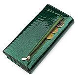 Кошелек женский ST Leather 18393 (S2001A) оригинальный Зеленый, фото 5
