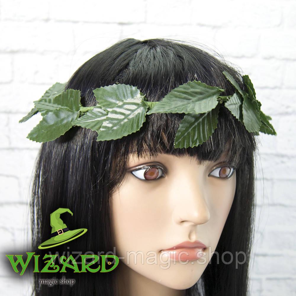 Зеленый лавровый венок