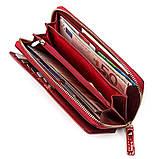 Кошелек женский ST Leather 18436 (S7001A) вместительный Красный, фото 5