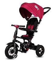 Велосипед трехколесный Sun Baby QPlay Rito Air Бордовый J01.014.1.2 Подкачка, фото 1
