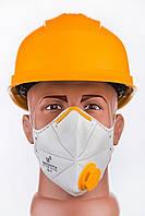 Маска - респиратор для защиты дыхательных путей FFP-2 ФФП2 С клапаном
