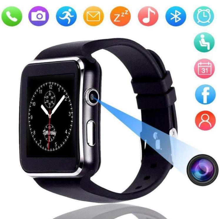 Умные часы Smart X6, Стильные, многофункциональные умные часы