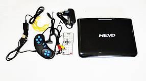 """9,8"""" Портативний DVD плеєр 911 акумулятор TV тюнер USB"""